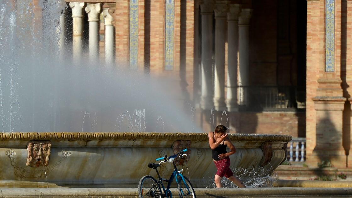 Première vague de chaleur dans l'Europe déconfinée
