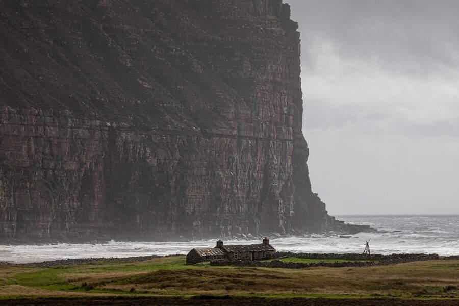 Les falaises de St John's Head