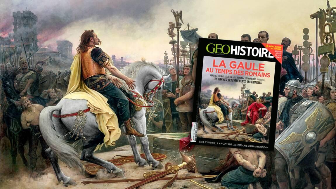 La Gaule au temps des Romains dans le nouveau numéro de GEO Histoire