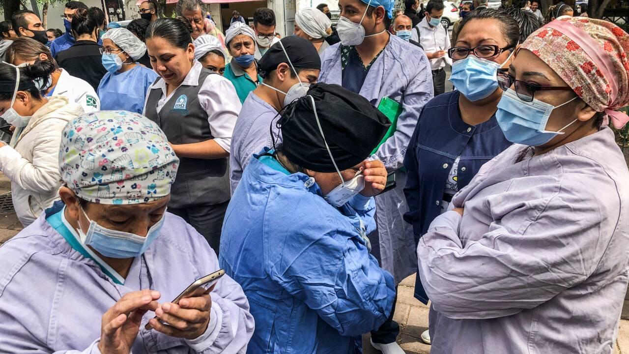 Mexique : un séisme fait au moins 6 morts en pleine crise sanitaire