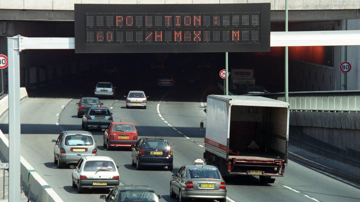 """Pollution à l'ozone: """"circulation différenciée"""" jeudi dans l'agglomération parisienne"""