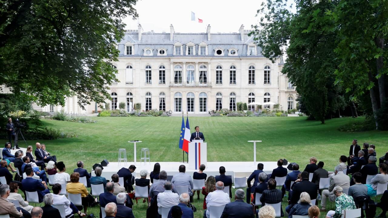 Séance d'explications pour Macron avec la Convention Climat