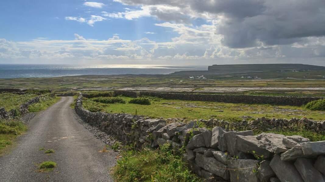 Inis Mór, la plus grande des îles d'Aran