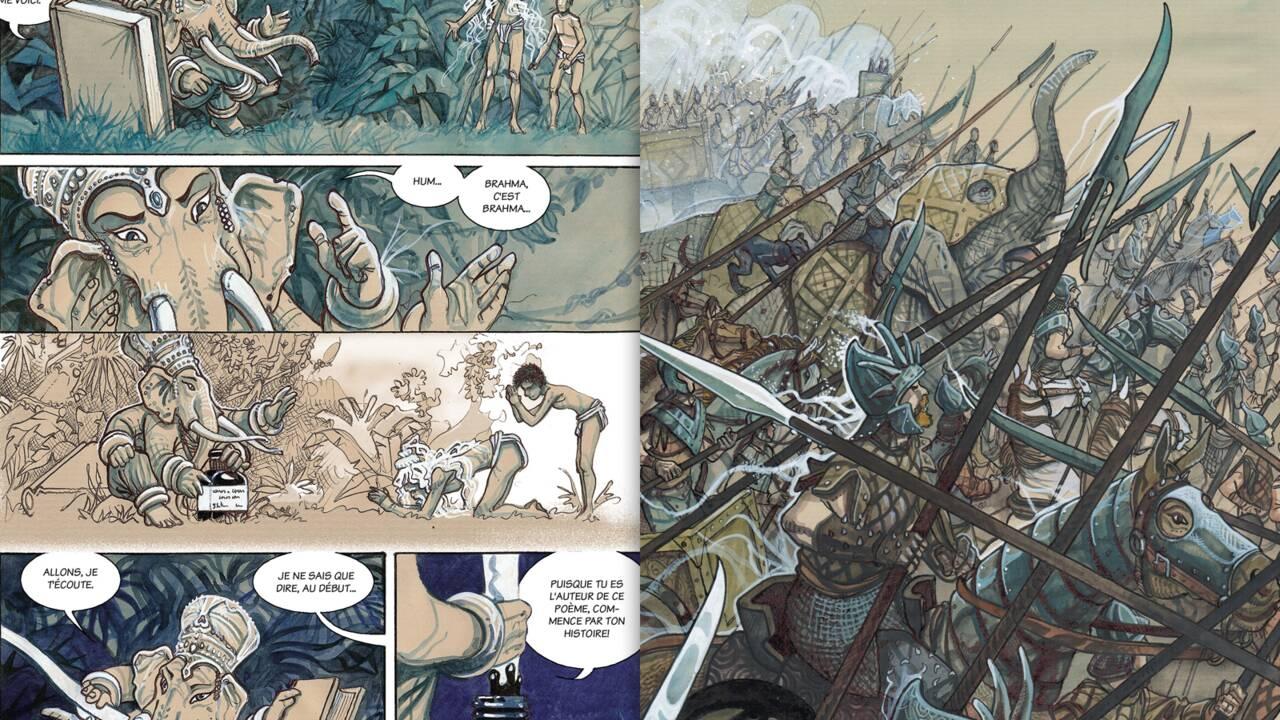 Le Mahâbhârata adapté en BD : la mythologie hindoue enfin en images