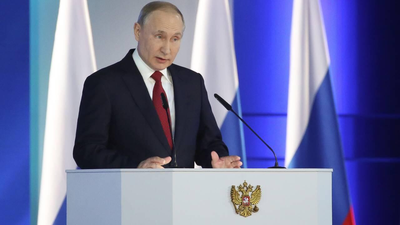 Poutine aux commandes de la Russie depuis 20 ans, cinq moments clés