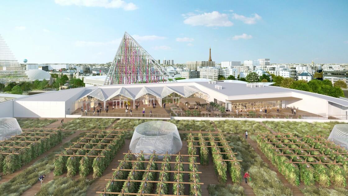 Ouverture de la plus grande ferme urbaine d'Europe à Paris