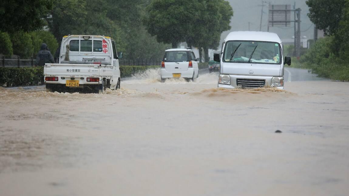 Japon: évacuations massives, 14 décès présumés dans une maison de retraite inondée