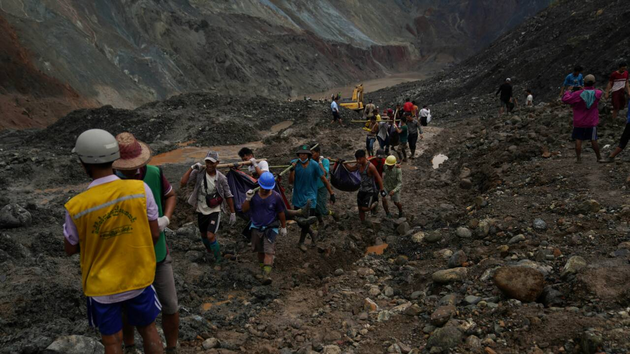 En Birmanie, des rescapés de la mine de jade rêvent toujours de fortune