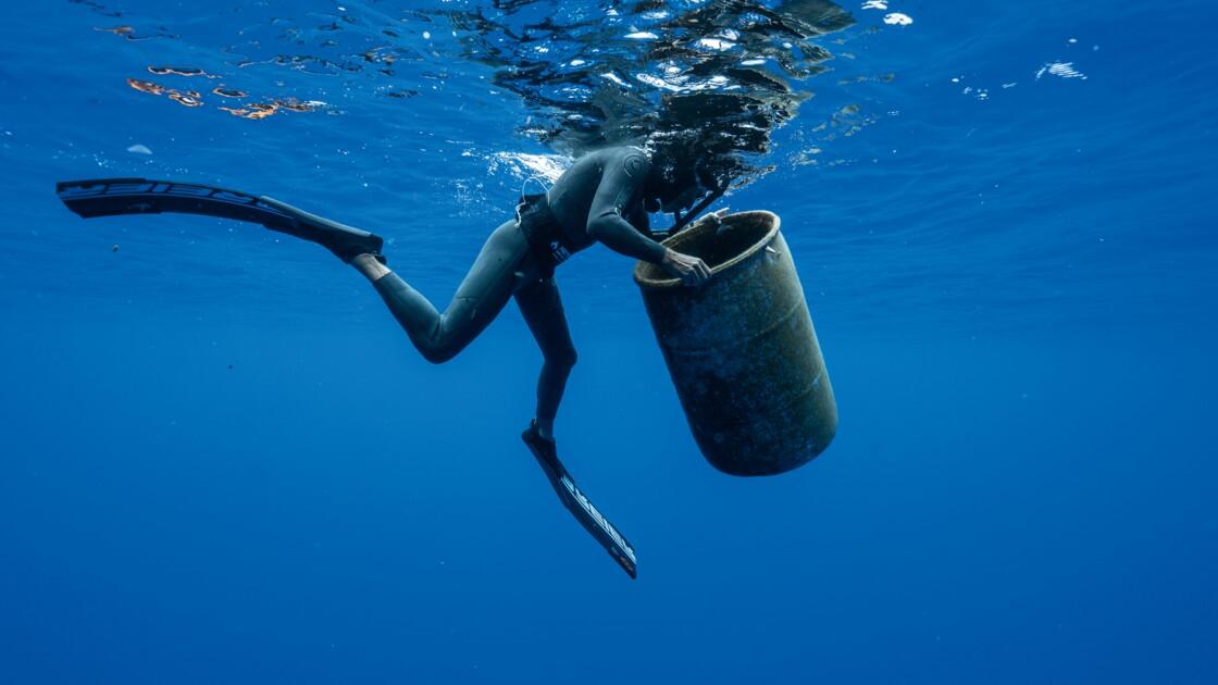 Ben Lecomte, le nageur qui a traversé un vortex de déchets pour alerter sur la pollution des océans