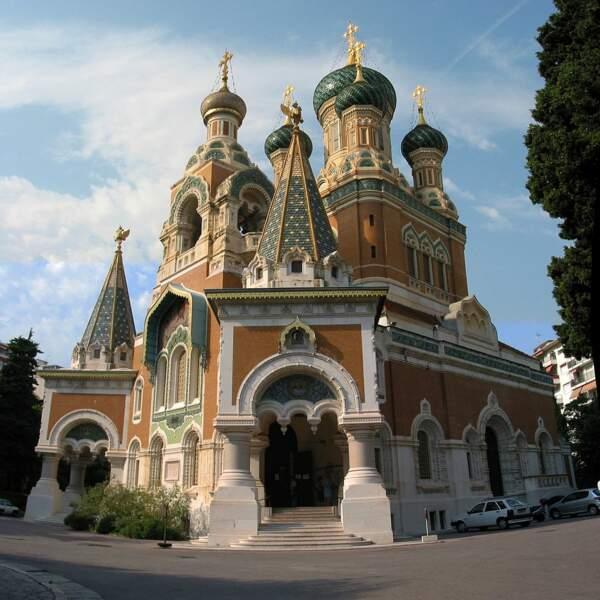 La cathédrale Saint-Nicolas de Nice (Provence-Alpes-Côte d'Azur)