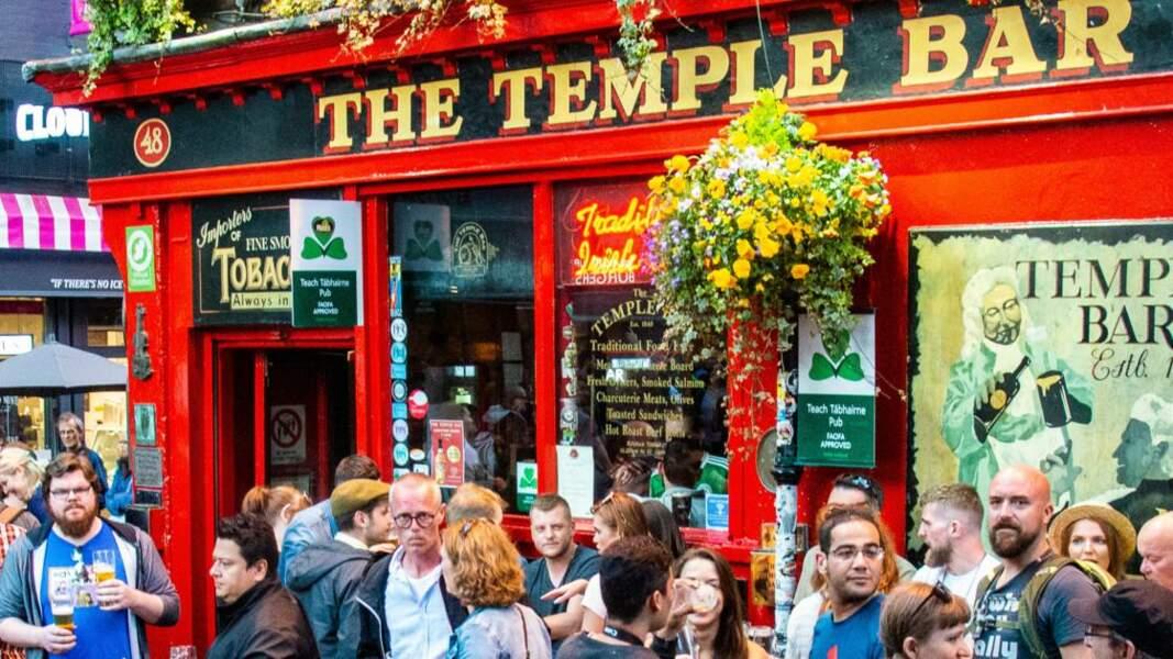 The Temple Bar pub, une institution à Dublin