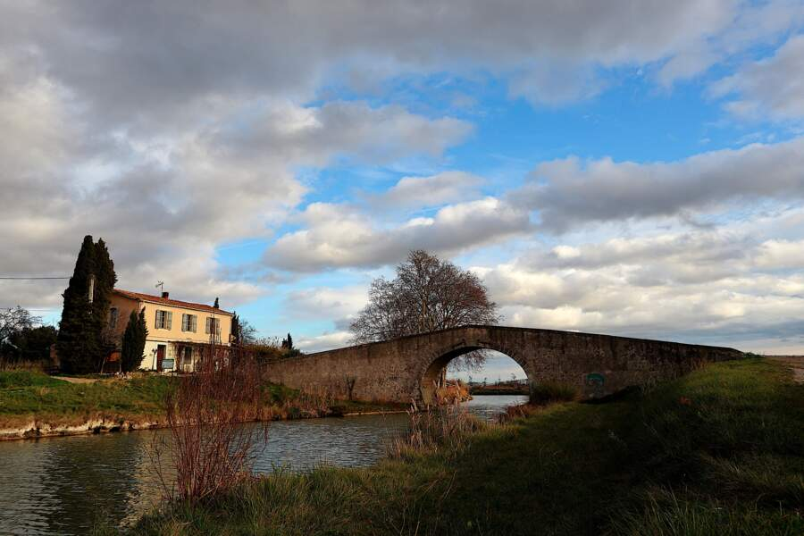 Le canal du Midi (Occitanie)