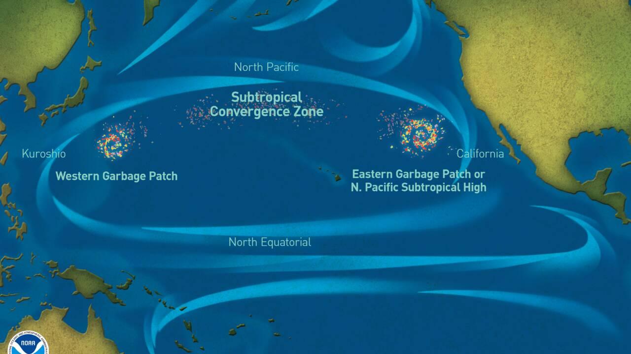 Record : un navire réalise la plus grande collecte de déchets en haute mer de l'histoire