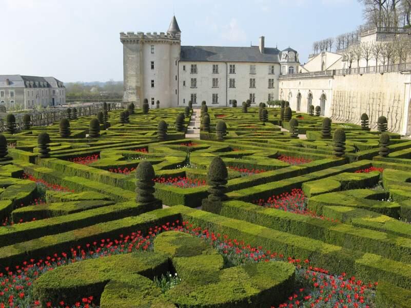 Le château et les jardins de Villandry (Centre-Val de Loire)