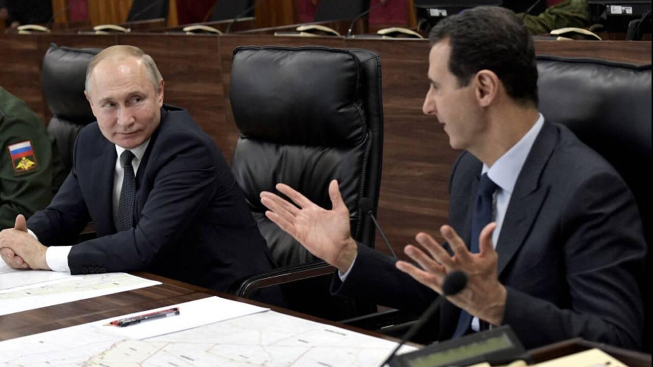 """Syrie : """"Aujourd'hui, Poutine est le vrai patron et impose sa stratégie à Bachar Al-Assad"""""""