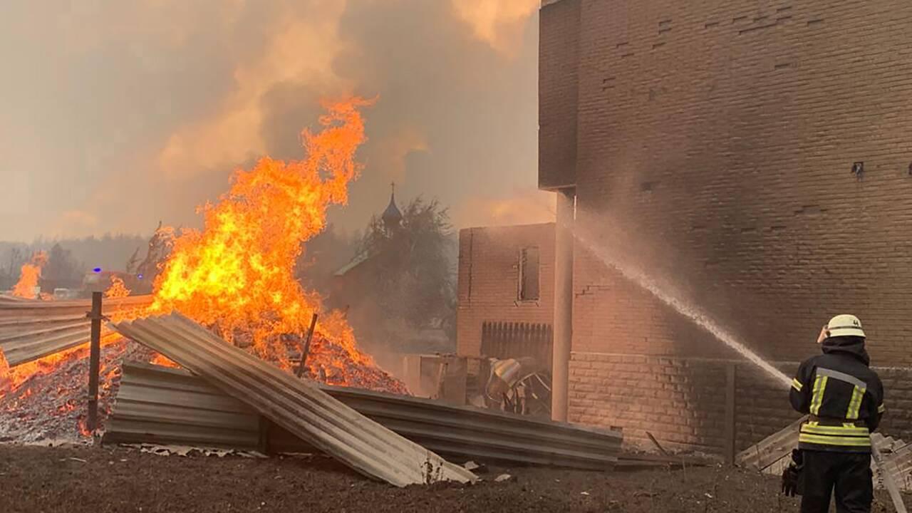 Six morts, neuf blessés dans des feux de forêt en Ukraine