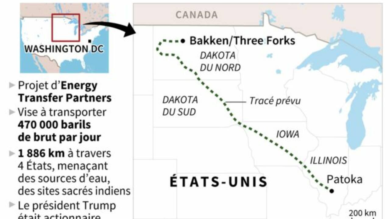 Victoire des Sioux de Standing Rock : la justice ordonne la fermeture temporaire de l'oléoduc Dakota Access