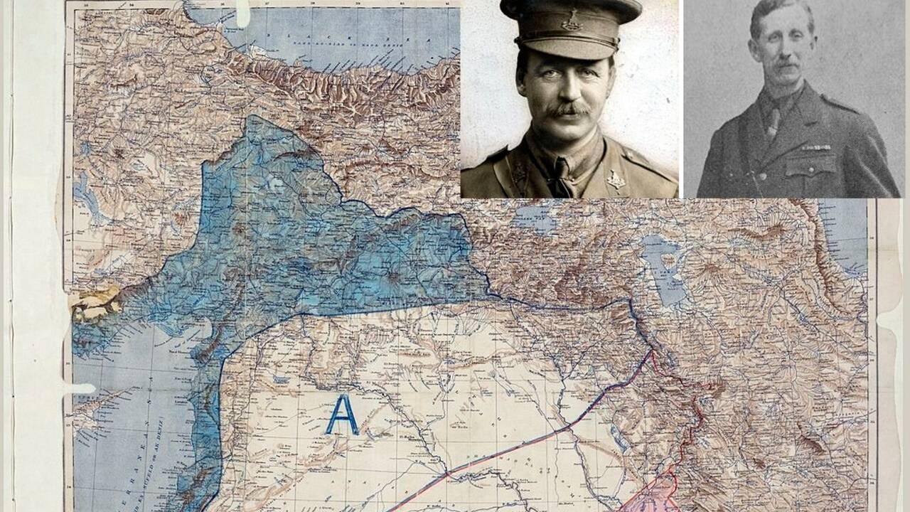Les accords Sykes-Picot et le partage du Moyen-Orient : une cicatrice dans le sable
