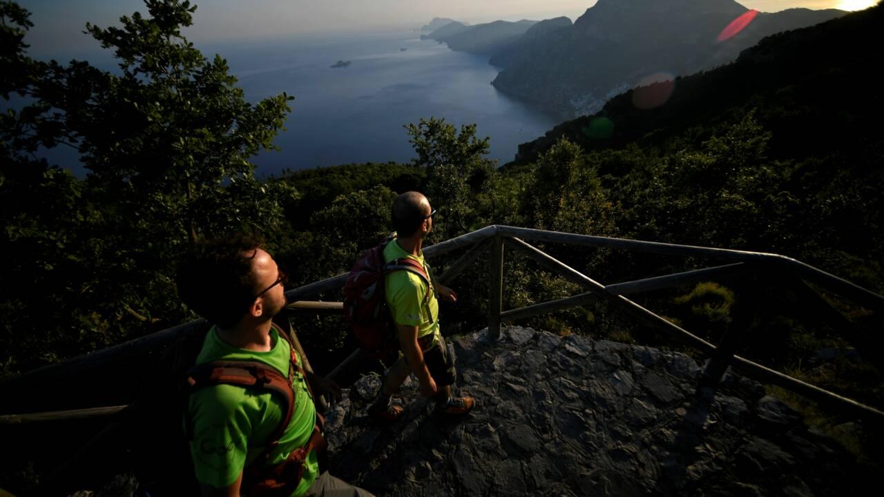 Sur la côte amalfitaine, la nature respire, mais jusqu'à quand?