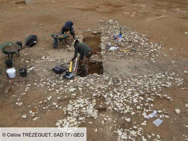 Des vestiges de bâtiments et des sépultures remontant jusqu'à 2800 ans découvert sur l'île d'Oléron