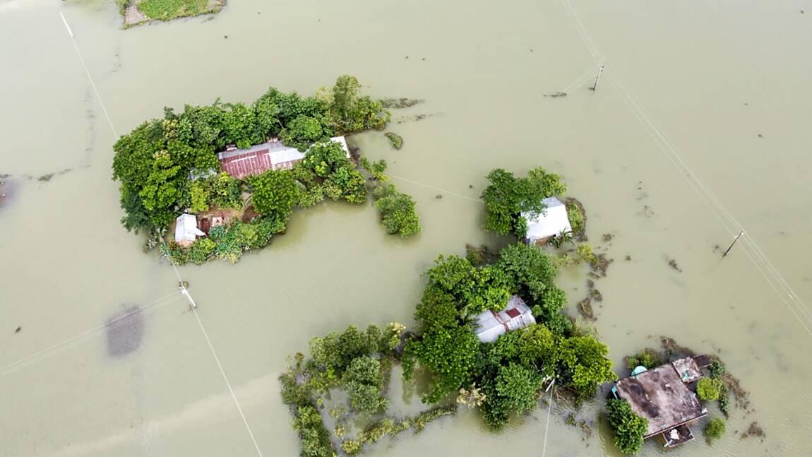 Asie du Sud : plus de cent morts de la mousson ces derniers jours