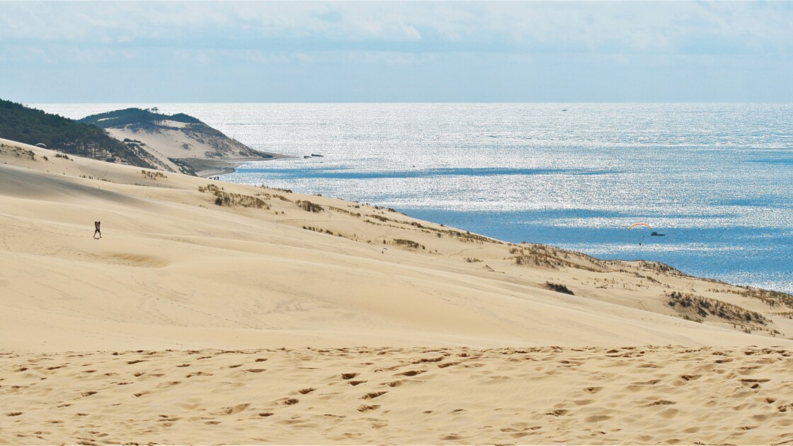 Gironde: la dune du Pilat a perdu près de quatre mètres en son sommet
