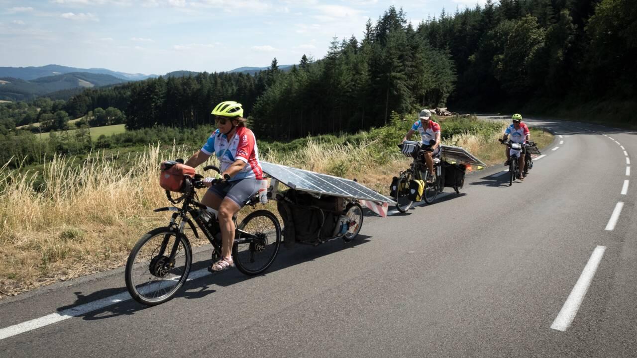 A vélo solaire à travers la France, le Sun Trip repart pour une nouvelle édition