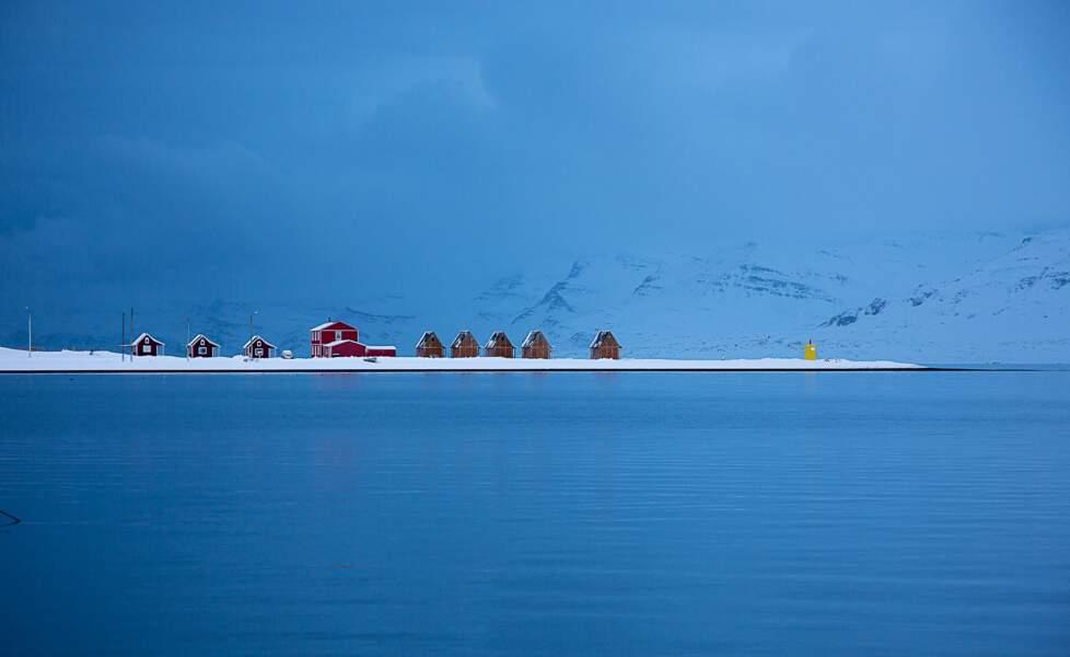 Le port d'Eskifjörður