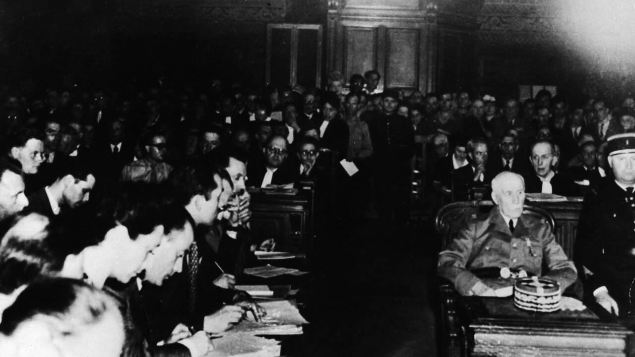 Il y a 75 ans, s'ouvrait le procès du maréchal Pétain