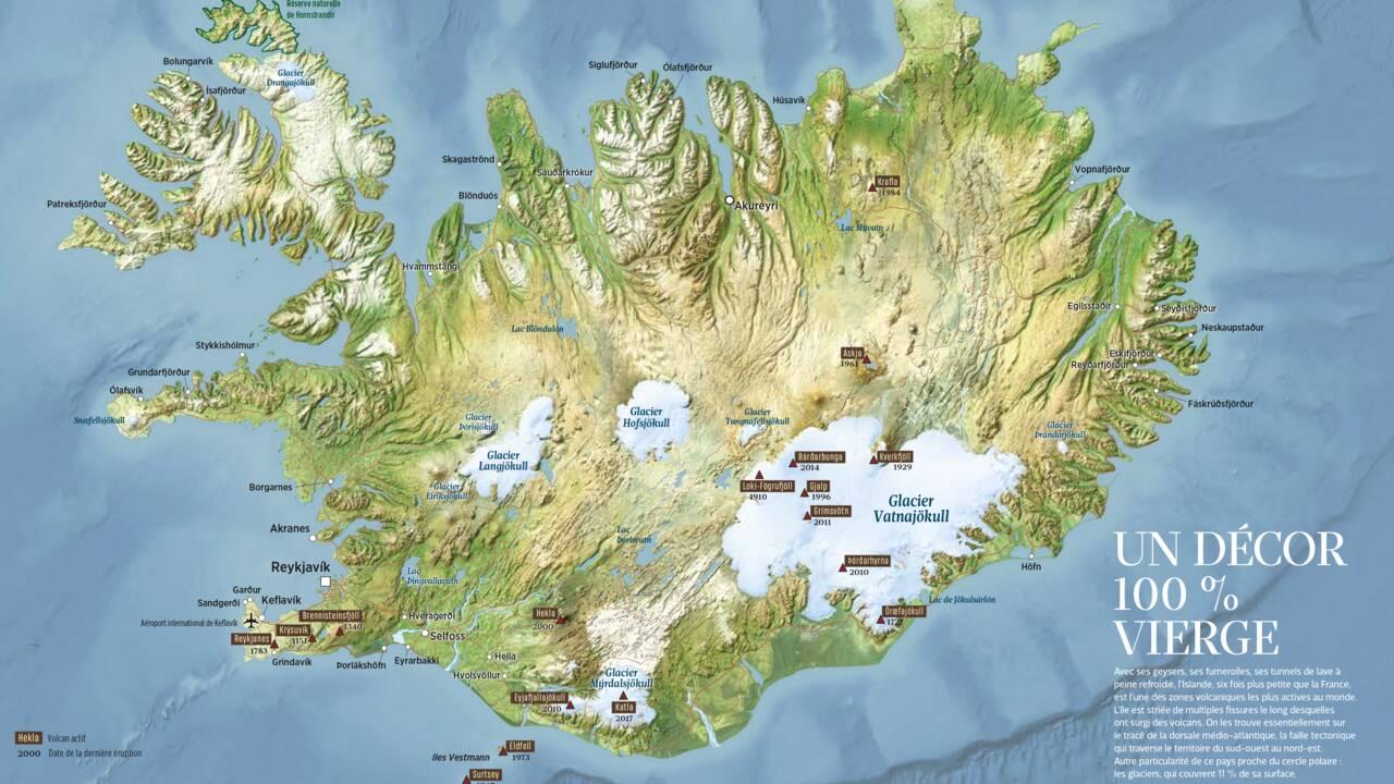 L'Islande : une île, deux saisons