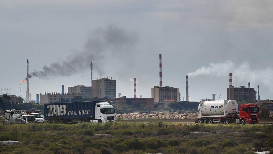 Pollution en Méditerranée après une fuite chimique près de Martigues