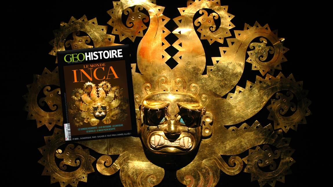 Les Incas au sommaire du nouveau numéro de GEO Histoire
