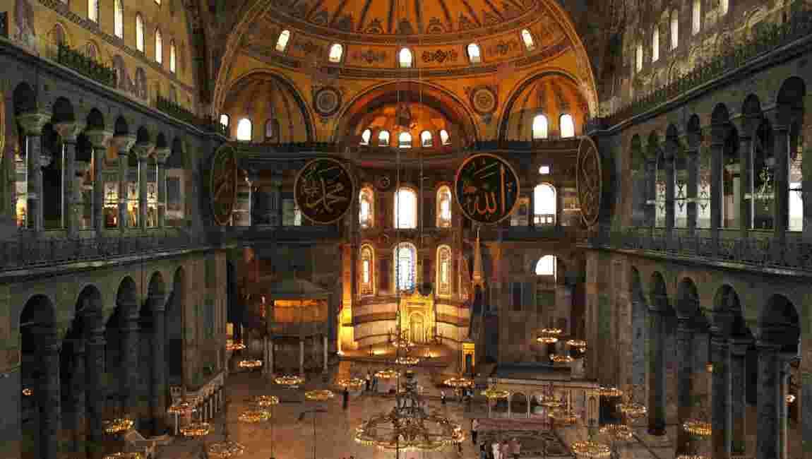 Erdogan présent à Sainte-Sophie pour la première prière musulmane