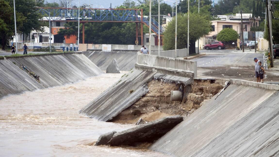 Deux morts et quatre disparus au Mexique après le passage de la tempête Hanna