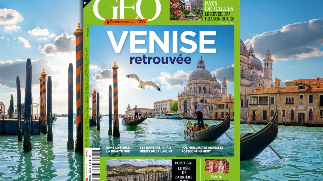 Venise au sommaire du nouveau numéro de GEO