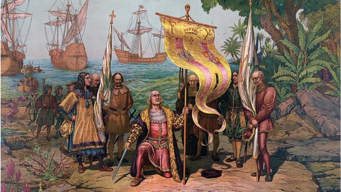 """Pourquoi dit-on que Christophe Colomb a """"découvert"""" l'Amérique ?"""