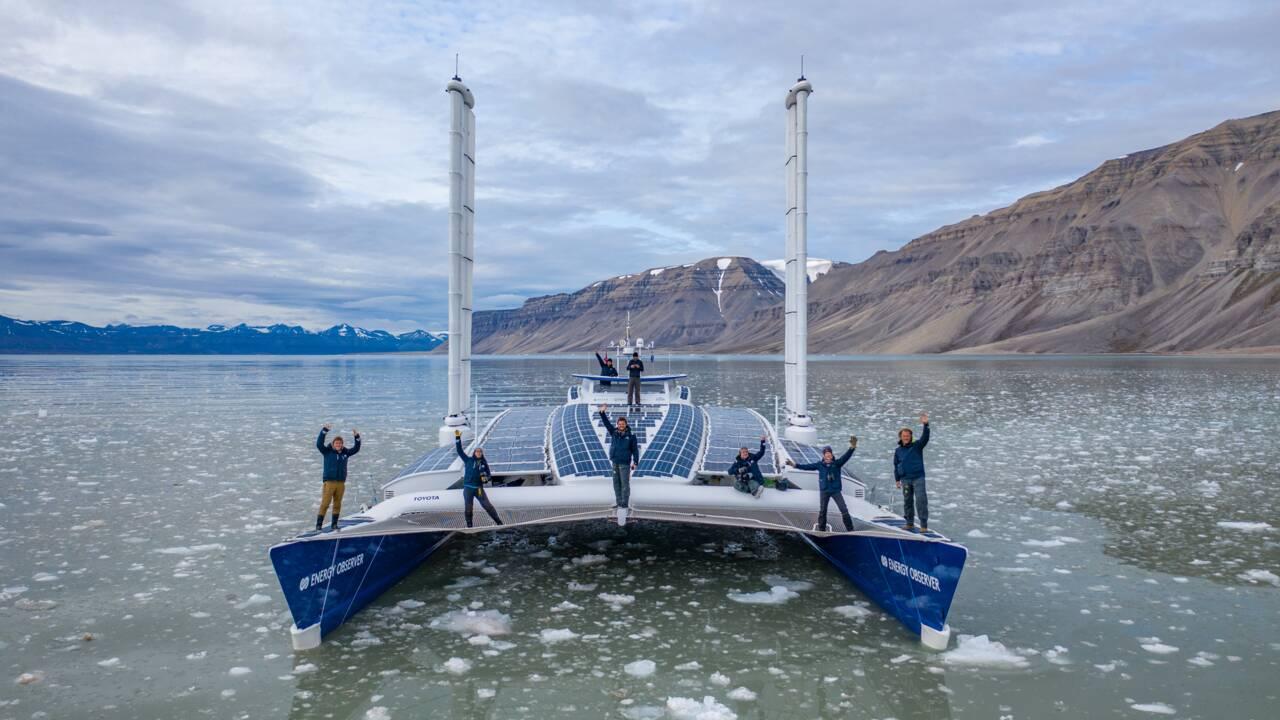 Energy Observer, l'odyssée zéro CO2 d'un catamaran changé en laboratoire flottant