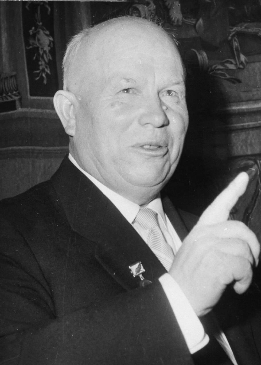 Nikita Khrouchtchev, colères noires et Guerre Froide
