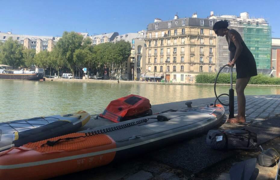 Les paddles de la Marne