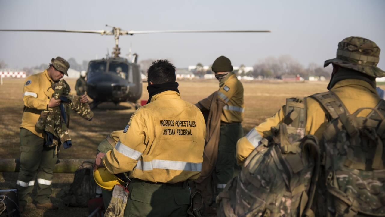 Argentine: le delta du Parana en proie à des incendies sans précédent