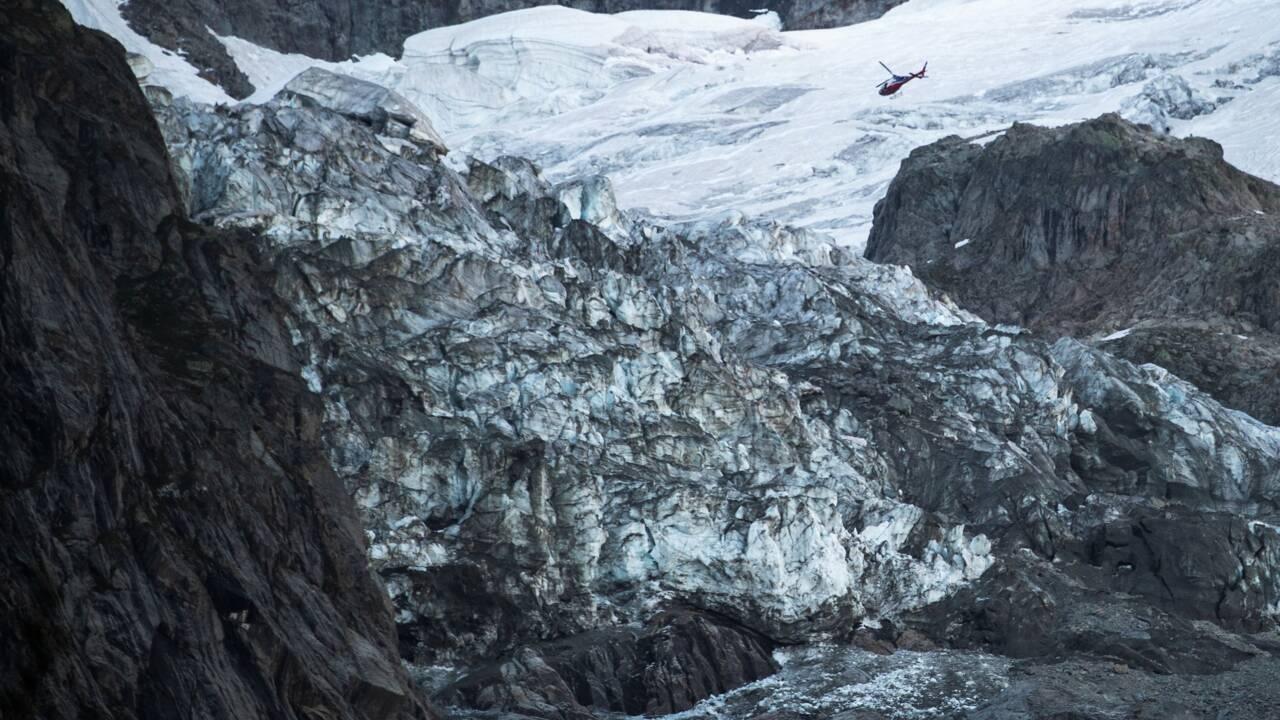 Italie: accès toujours bloqués au pied d'un glacier menaçant de s'effondrer