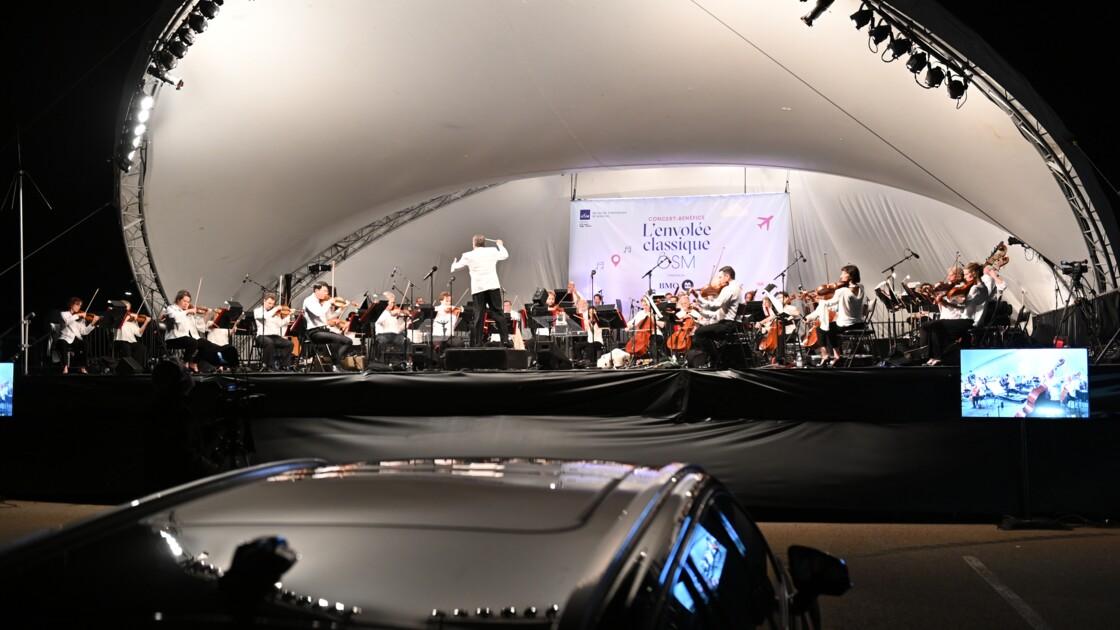 Et si on écoutait la 5e symphonie de Beethoven en drive-in à l'aéroport de Montréal ?