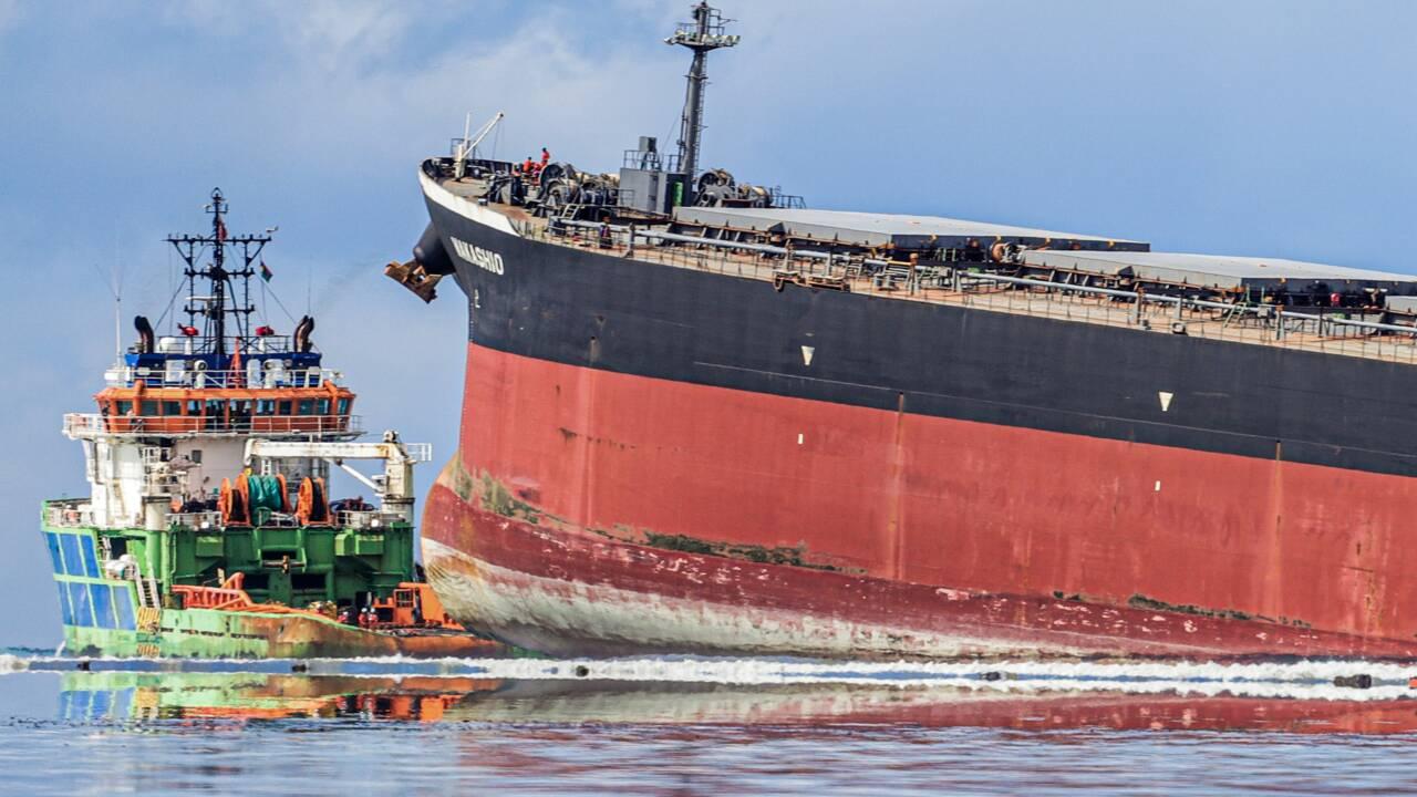 Ile Maurice : un paradis menacé par une marée noire