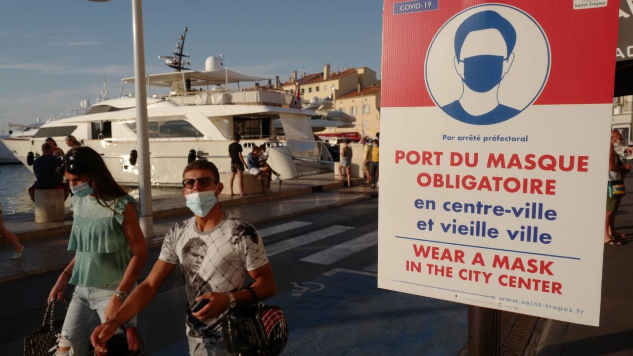 """""""Risque élevé"""" de reprise de l'épidémie en France sur fond de canicule"""