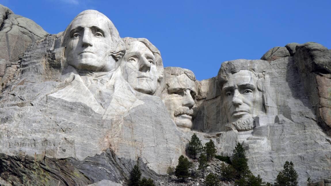 Son visage au mont Rushmore ? Donald Trump en rêve