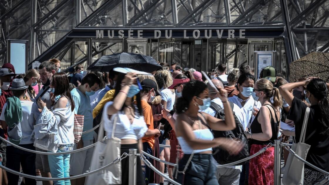 L'Ile-de-France étouffe entre canicule et port du masque
