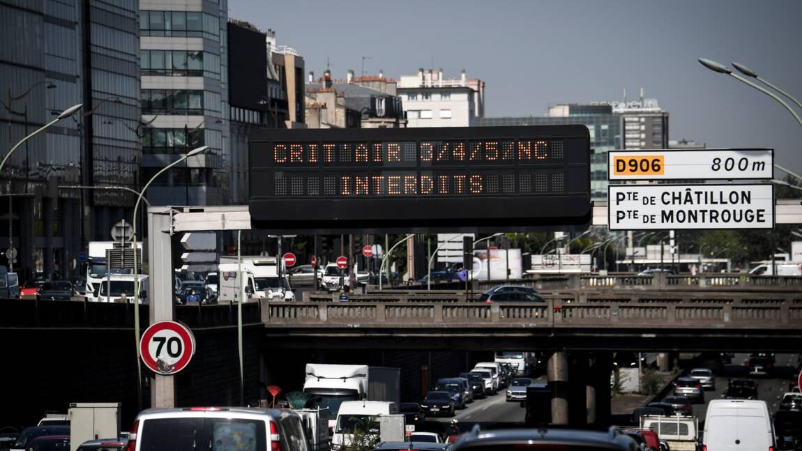 Pollution de l'air: fin de la circulation différenciée en Ile-de-France lundi soir