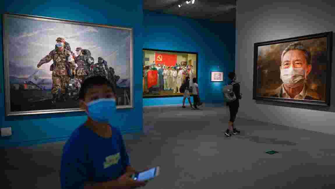 A Pékin, une exposition consacrée au coronavirus ouvre ses portes