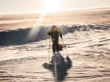 Il a traversé le plus grand glacier d'Islande en solitaire