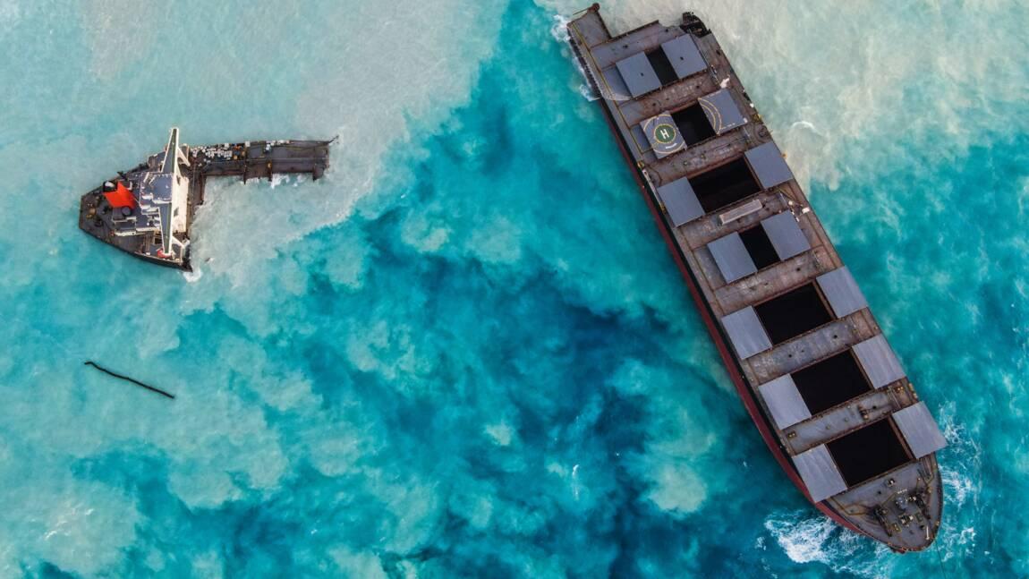 Navire échoué à Maurice: la France envoie trois experts